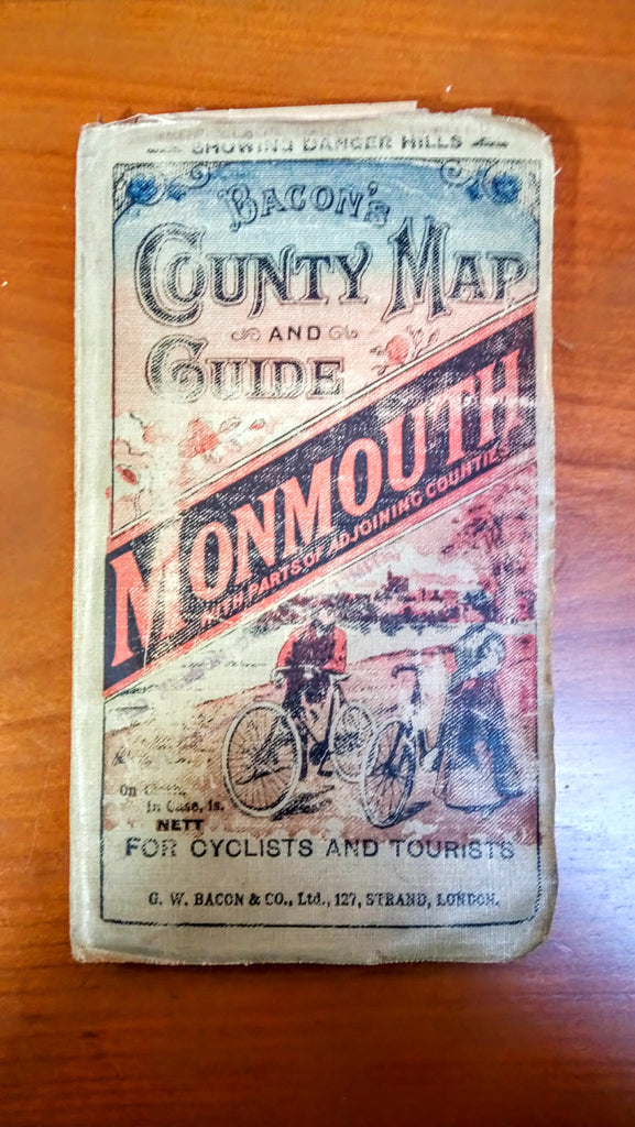 Bacon's County Map and Guide - Monmouth