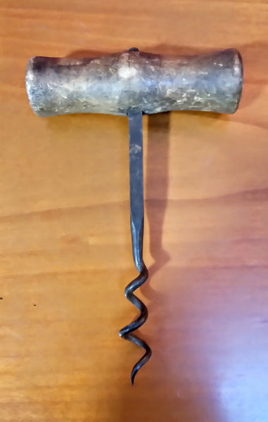 Vintage Light Wood Handle Corkscrew