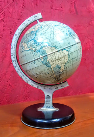 Chad Valley Globe 1950's