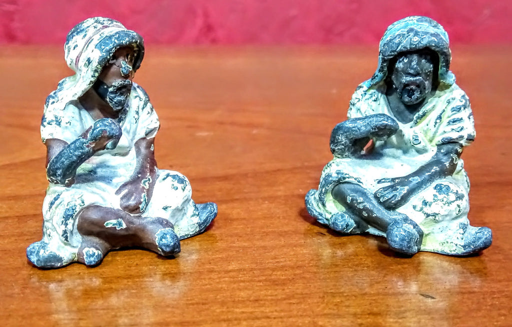Pair of Cold Painted Middle Eastern Figures