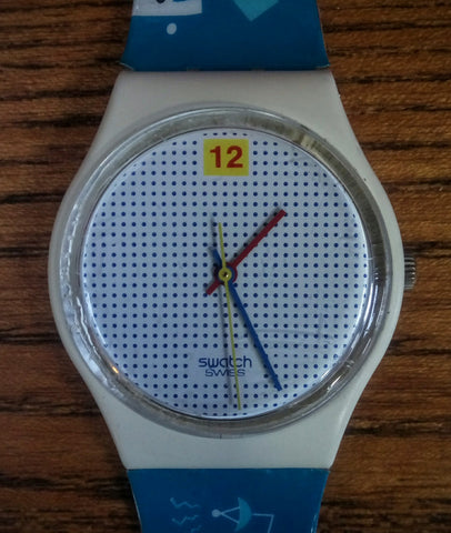Dotted Swiss - Swatch Watch