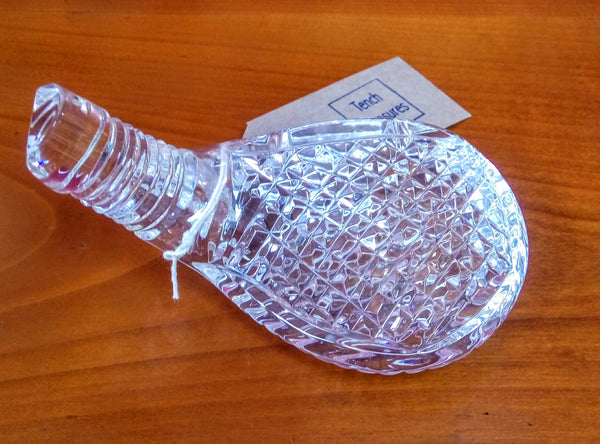 Waterford Crystal Golf Club Head Paperweight