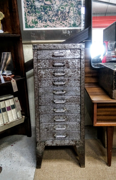 10 Draw Industrial Filing Cabinet