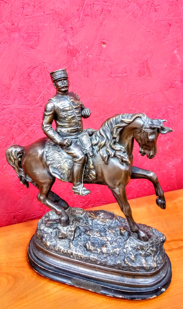 Spelter Figure Of French General Joffre