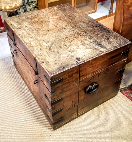 19th Century Silver Chest