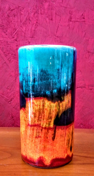 Poole Pottery Gemstone Pillar Vase