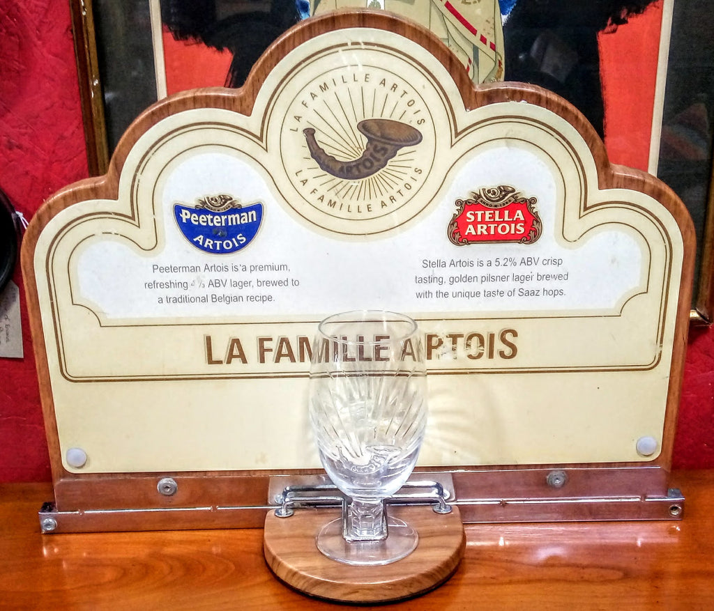 La Famille Artois - Advertising Sign