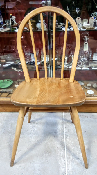 Set of 4 Ercol Windsor 1960 Dining Chairs