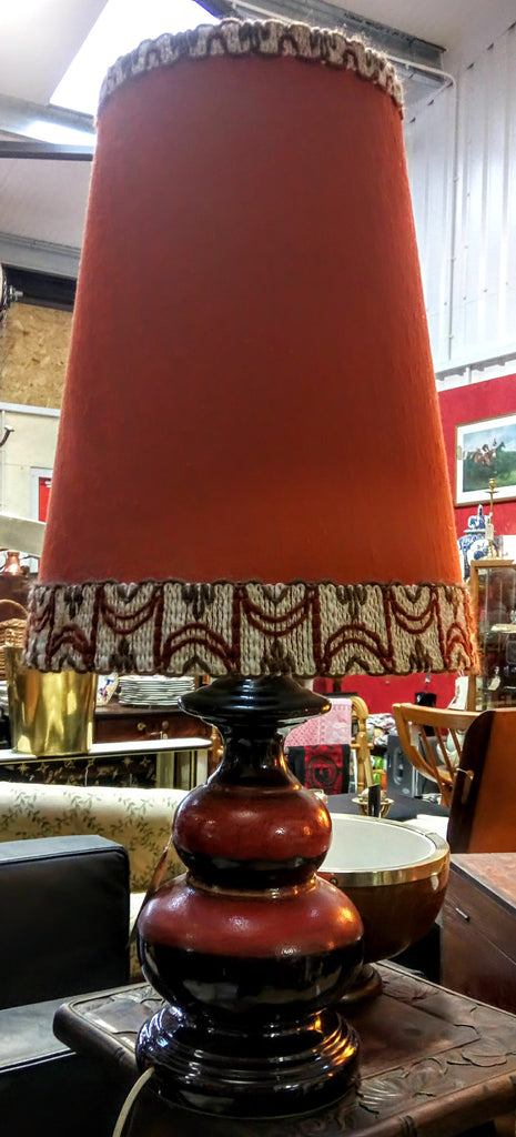 1960's West German Table Lamp