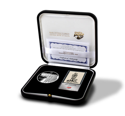 European Artist 'Antonio Sciortino' Silver Proof