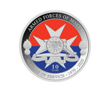 Armed Forces of Malta - 50 Years of Service 1970 - 2020 Silver proof