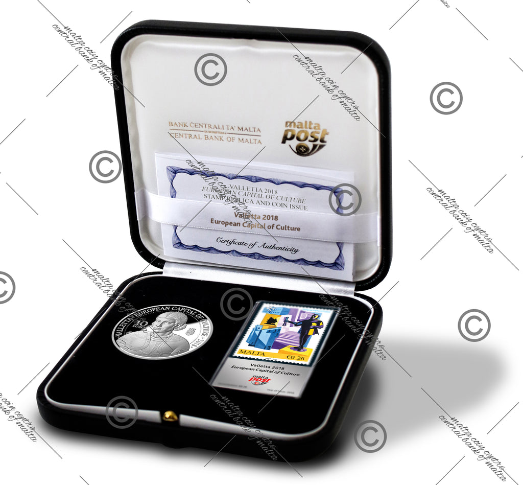 Valletta European Capital of Culture 2018 Silver Set