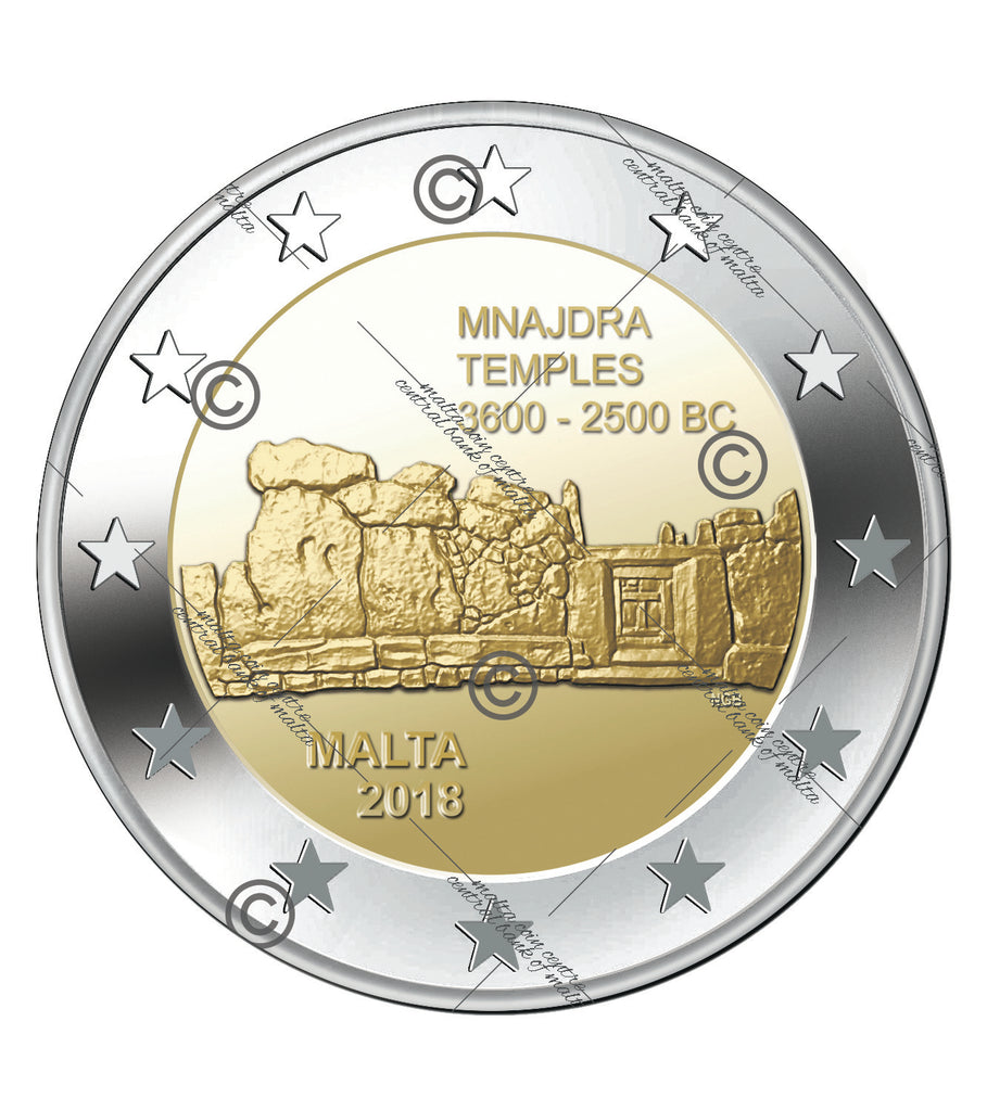 Mnajdra - pack of 5 coins