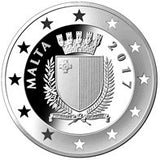 Malta's Presidency of the Council of the European Union Silver Proof