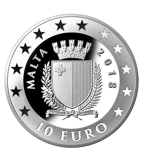 The Central Bank of Malta 50th Anniversary Silver Proof