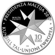 40th Anniversary Republic of Malta Silver Proof