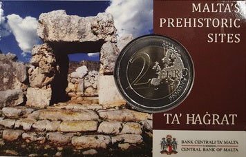 'Centenary of the Sette Giugno Riots 1919' silver coin and a silver foil stamp replica