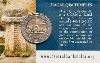 Hagar Qim - Coin Cards