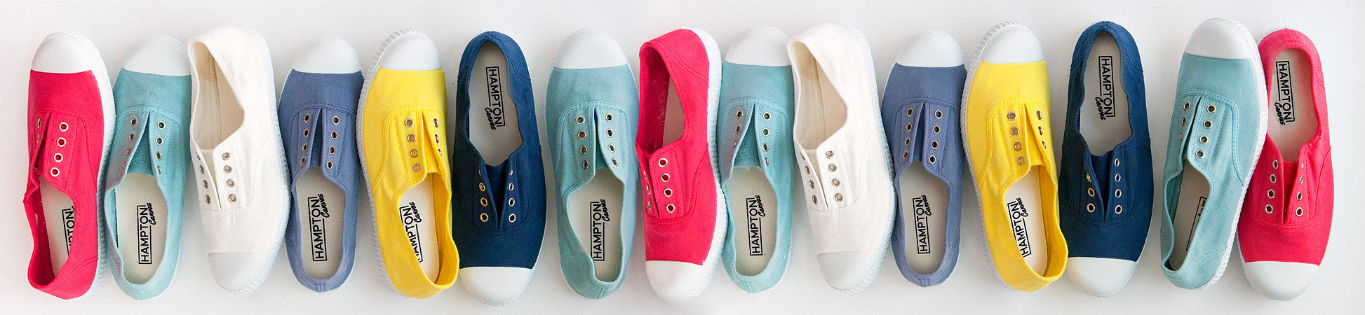 Hampton Canvas Plimsolls Summer Shoes