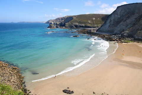 Trevaunance Cove Beach, Cornwall