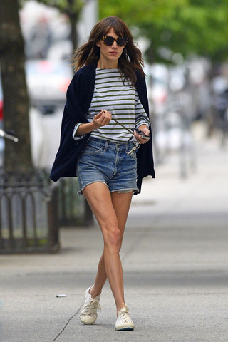 Alexa Chung style icon plimsolls canvas shoes