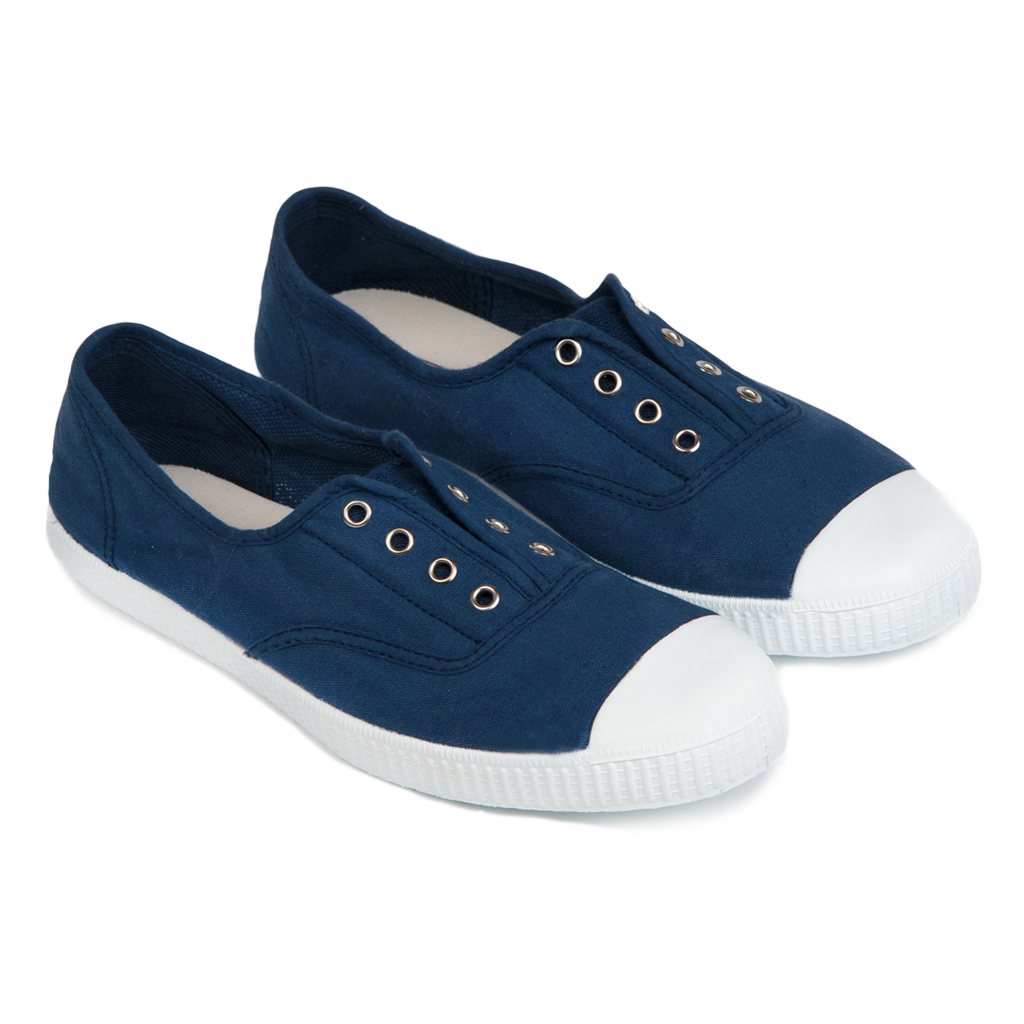 Hampton Canvas Plum - NAVY (EU 37-43)