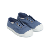 Hampton Canvas Plum - STEEL BLUE (EU 24-36)