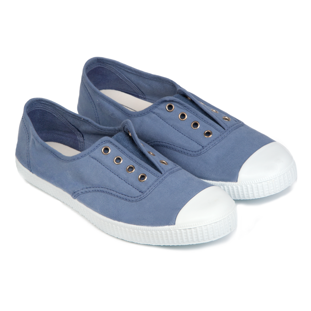 Hampton Canvas Plum - STEEL BLUE (EU 37-43)