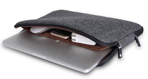 Men's Woolen Waterproof Laptop Bag