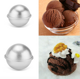 6 Piece Spherical Cake Mold (3 Molds)