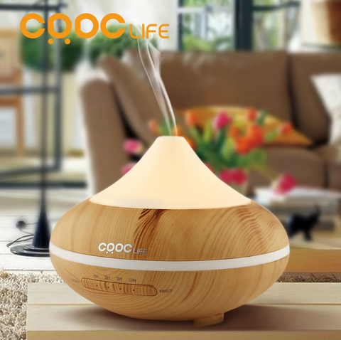 Ultrasonic Aromatherapy Humidifier (Color Changing)