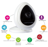 HD Wifi Camera With Built In Microphone