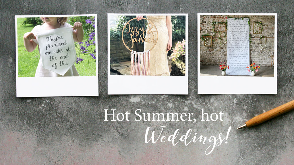 Summer Wedding Designs!