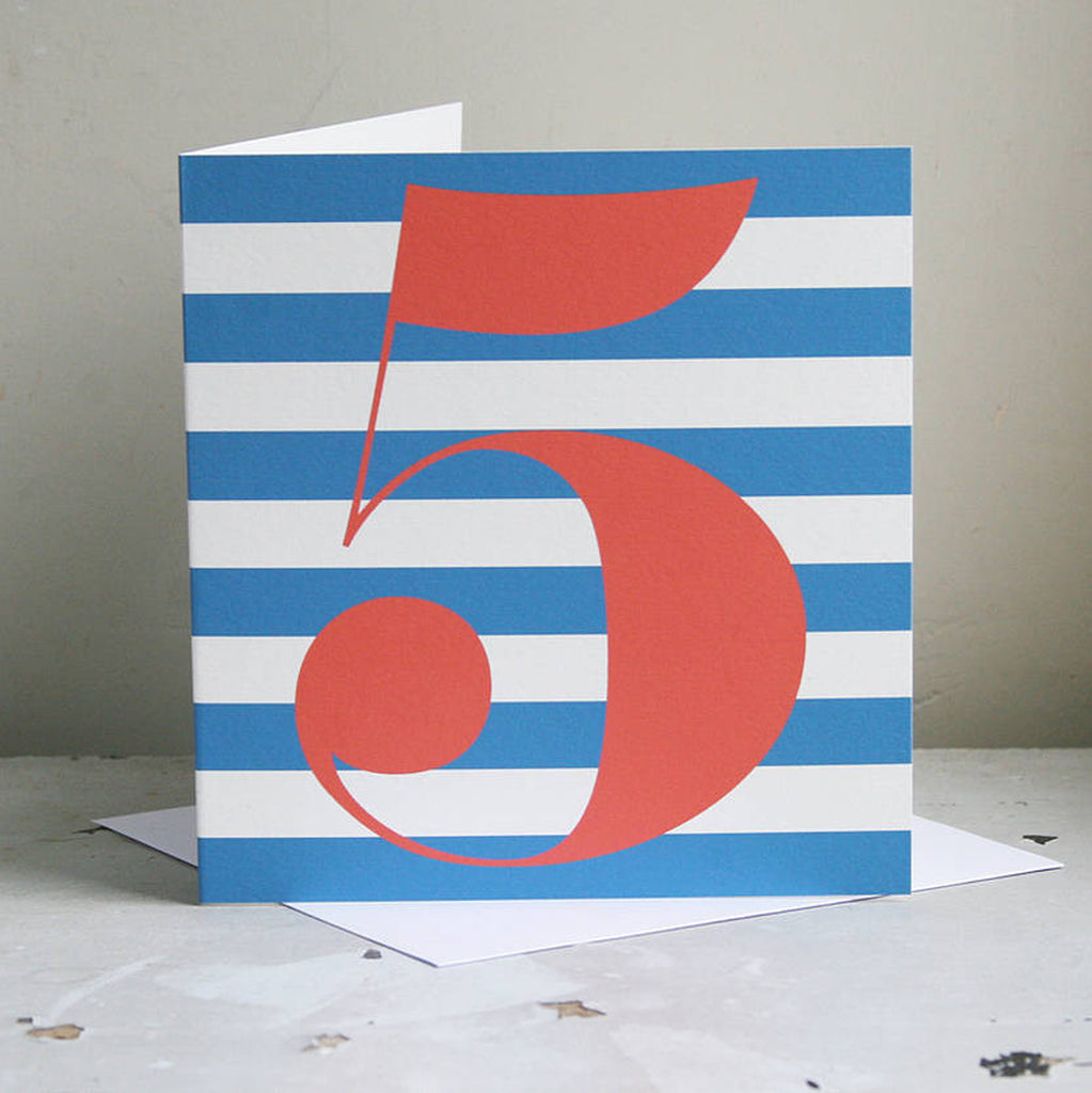 Boy Age Birthday Card