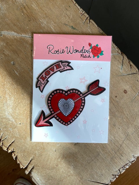 Iron On Rosie Wonder Patches