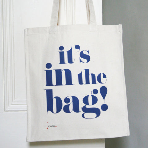 personalised tote shopping bags design by modo modo creative