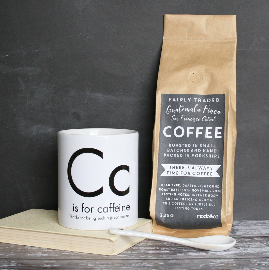 Teacher Coffee and Mug Set