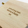 Personalised Hand Cranked Christmas Music Box