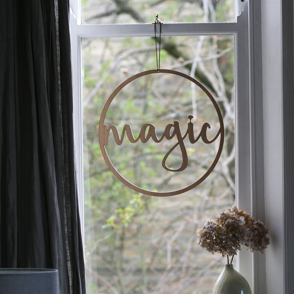 MAGIC Window Hanging