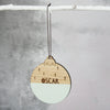 Personalised Wooden Name Bauble