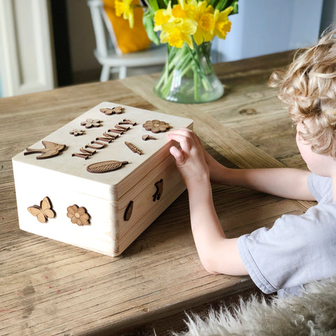 Decorate Your Own Mother's Day Box