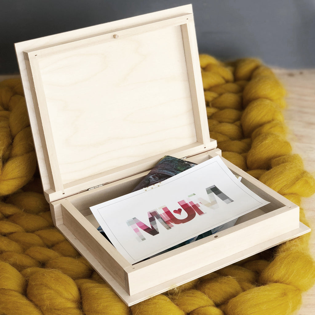 Mother's Day Card And Keepsake Box