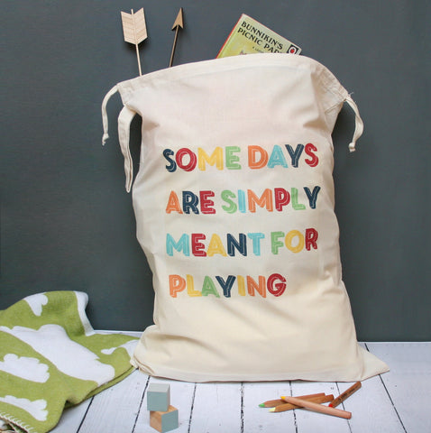 Meant For Playing Toy Sack