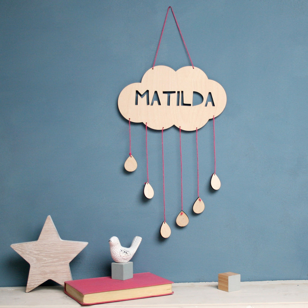 Personalised Cloud Dream Catcher