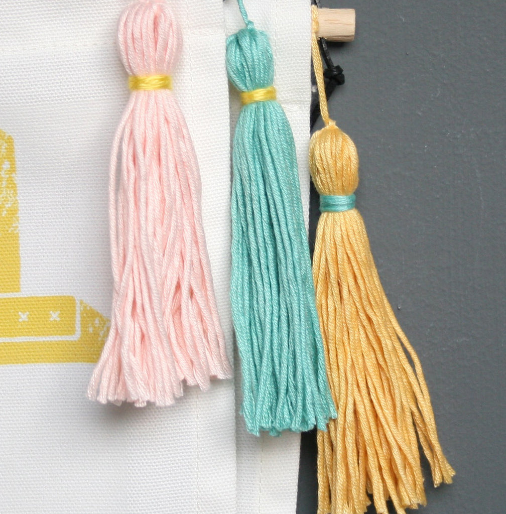 Delightful Fabric Wall Hanging