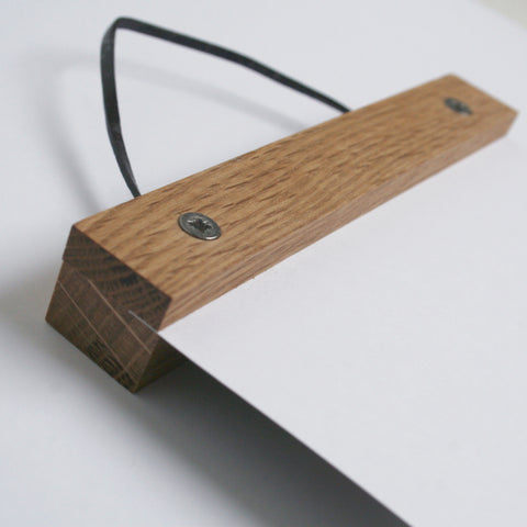 Oak Picture Hanger