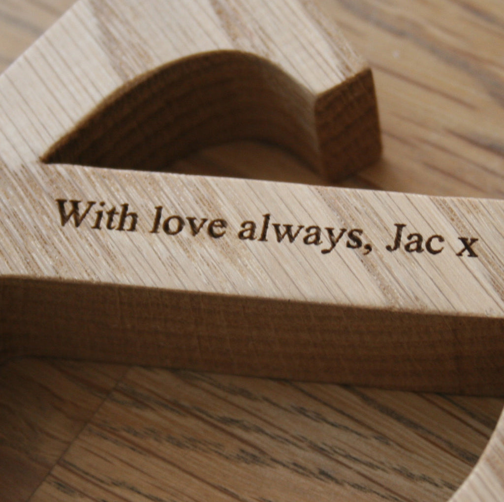 Personalised Mr And Mrs Letters