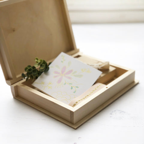 Wedding Card And Keepsake Box