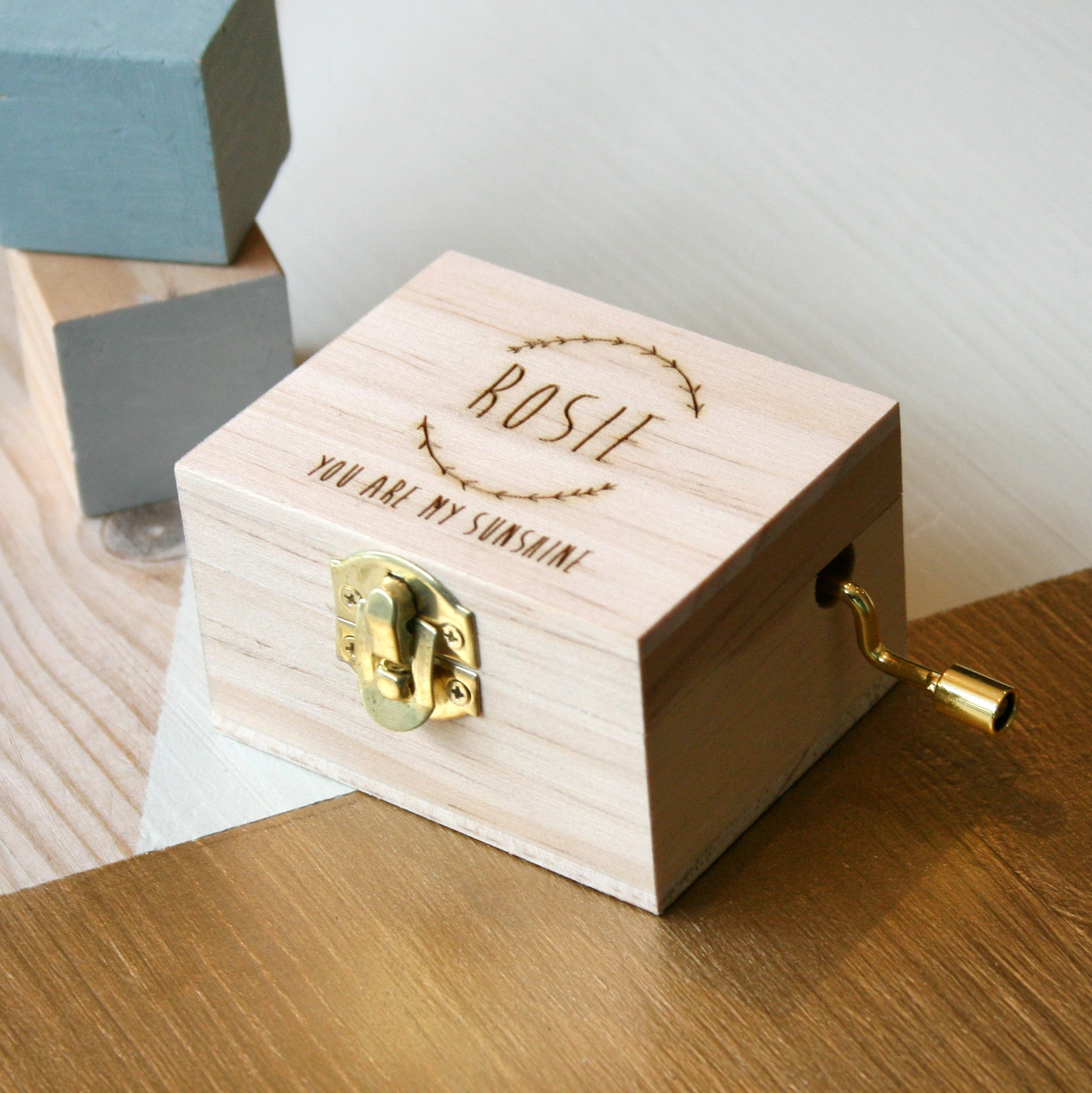 Beautiful Wooden Music Boxes Design By Modo Creative