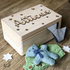 Personalised Raised Name Keepsake Box